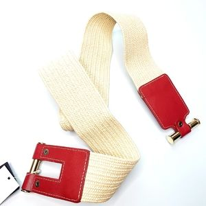 Vintage Statement Stretch Belt, Sz XL/1X